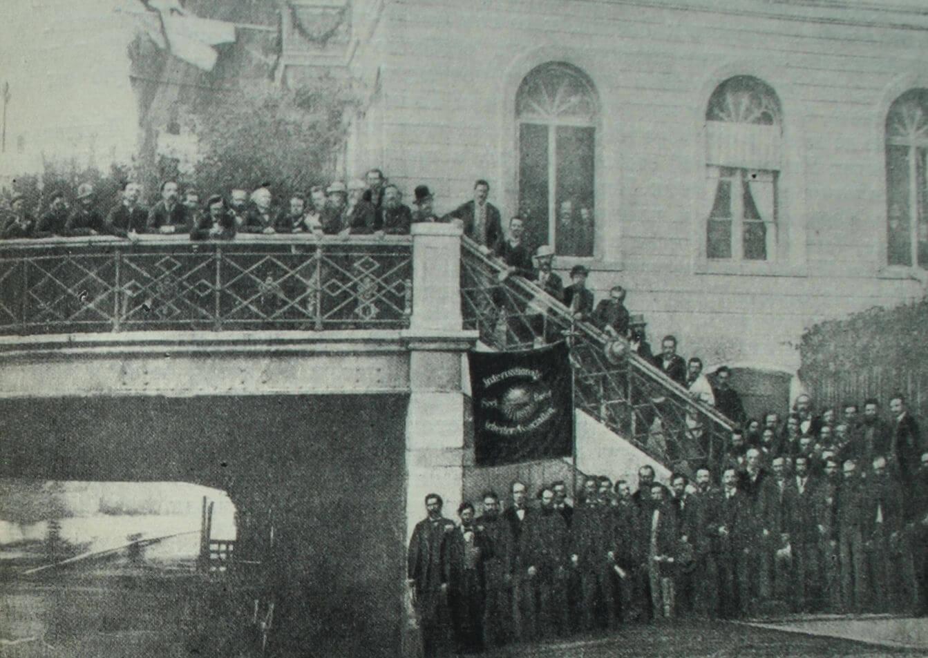 Четвертый конгресс Интернационала в 1869 г. в Базеле