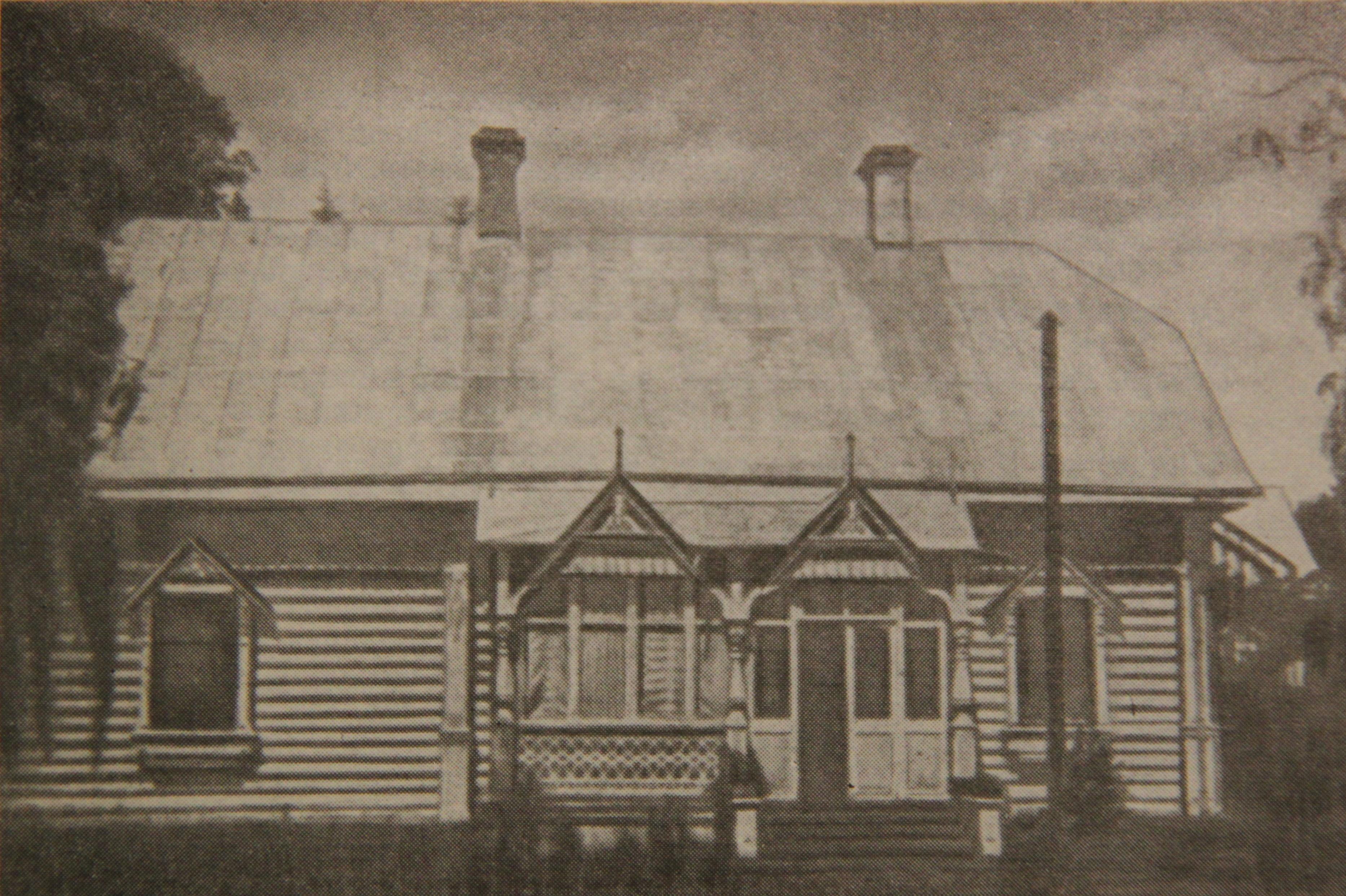 Дом в Дмитрове, где в последние годы жил П.А.Кропоткин