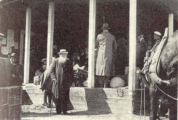 П.А.Кропоткин проездом в Хапаранде, Швеция, 1917 год