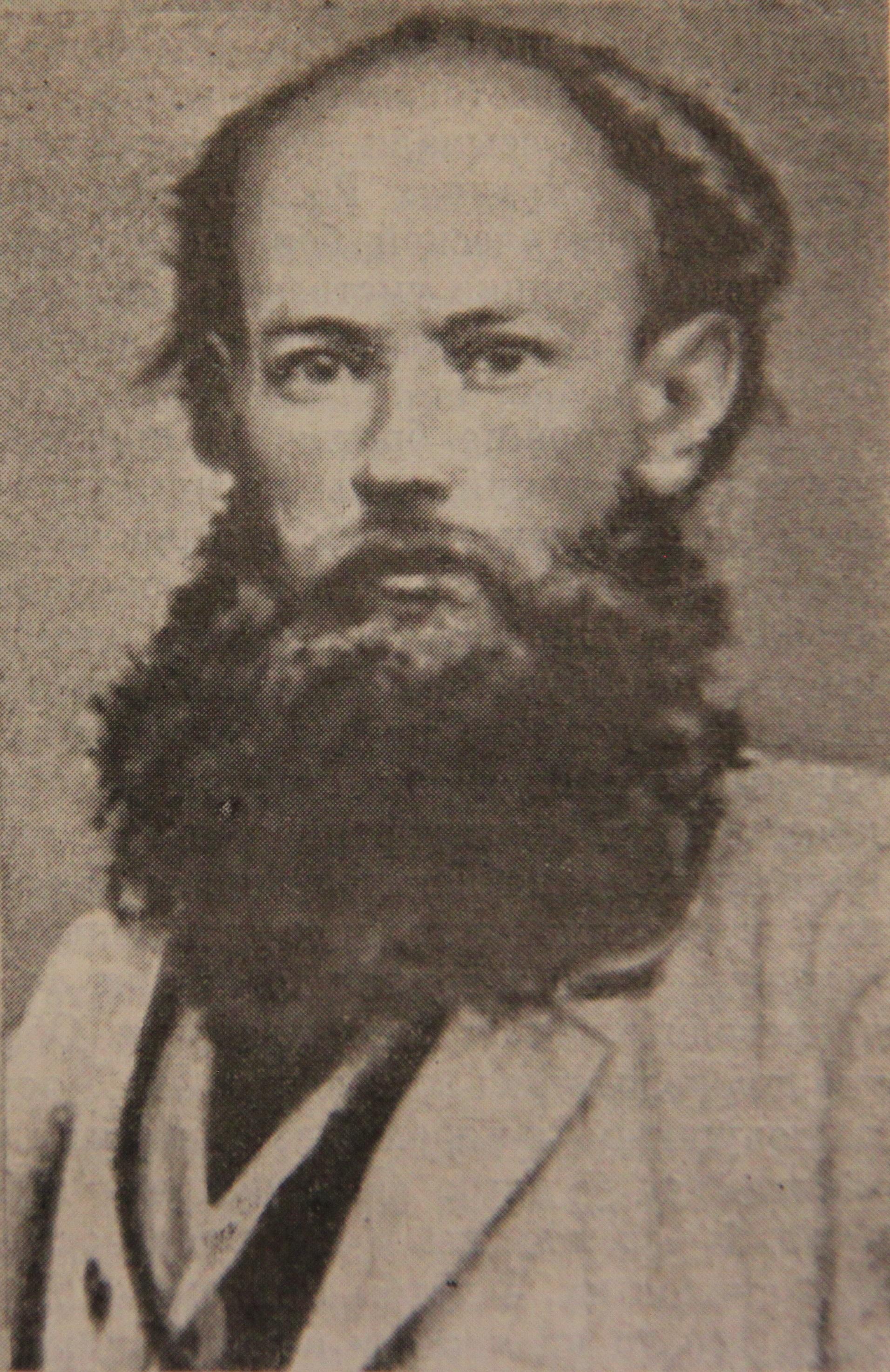 П.А.Кропоткин в 1873 году