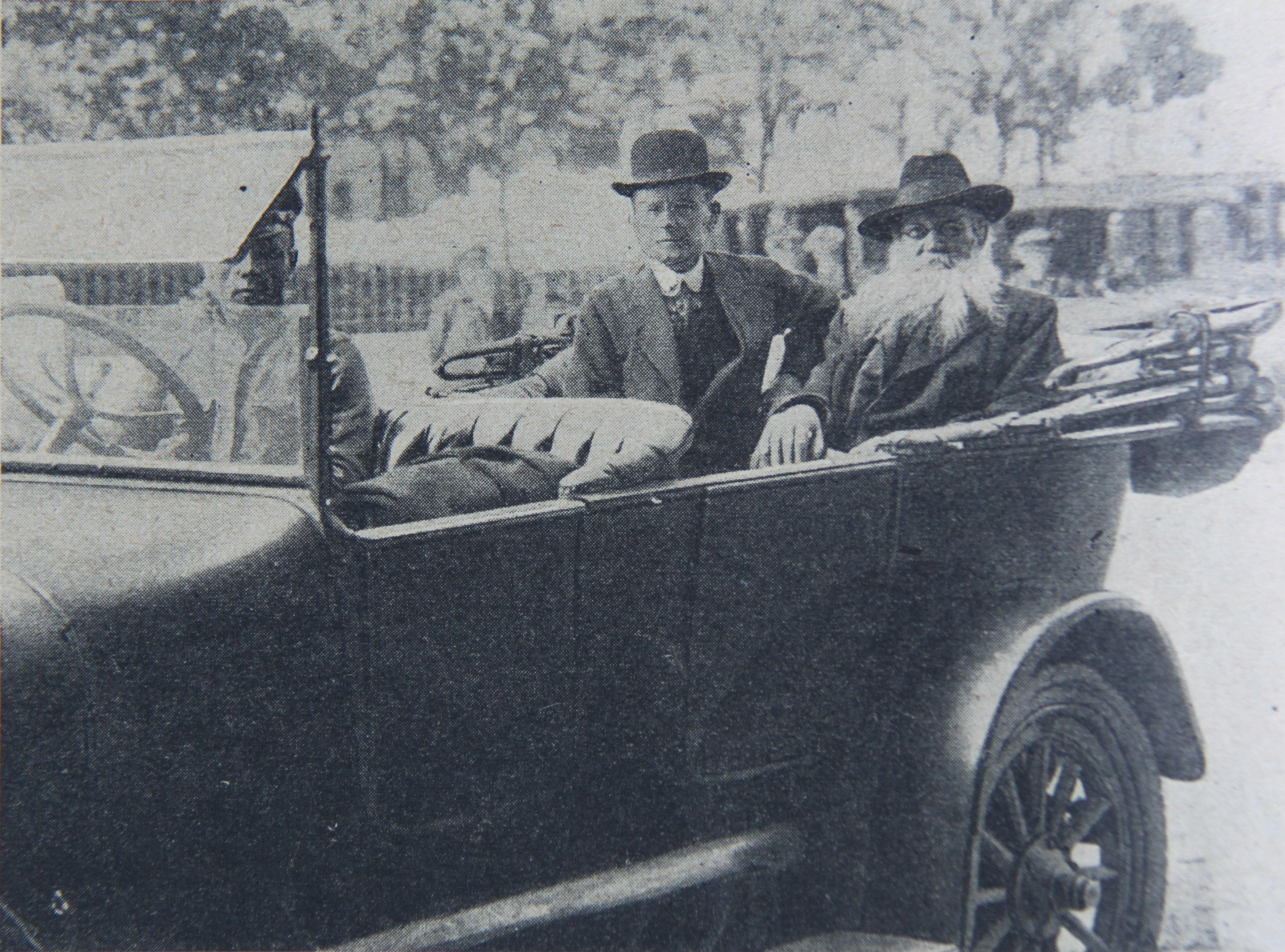 П.А.Кропоткин в Москве, на пути в Государственное совещание, август 1917