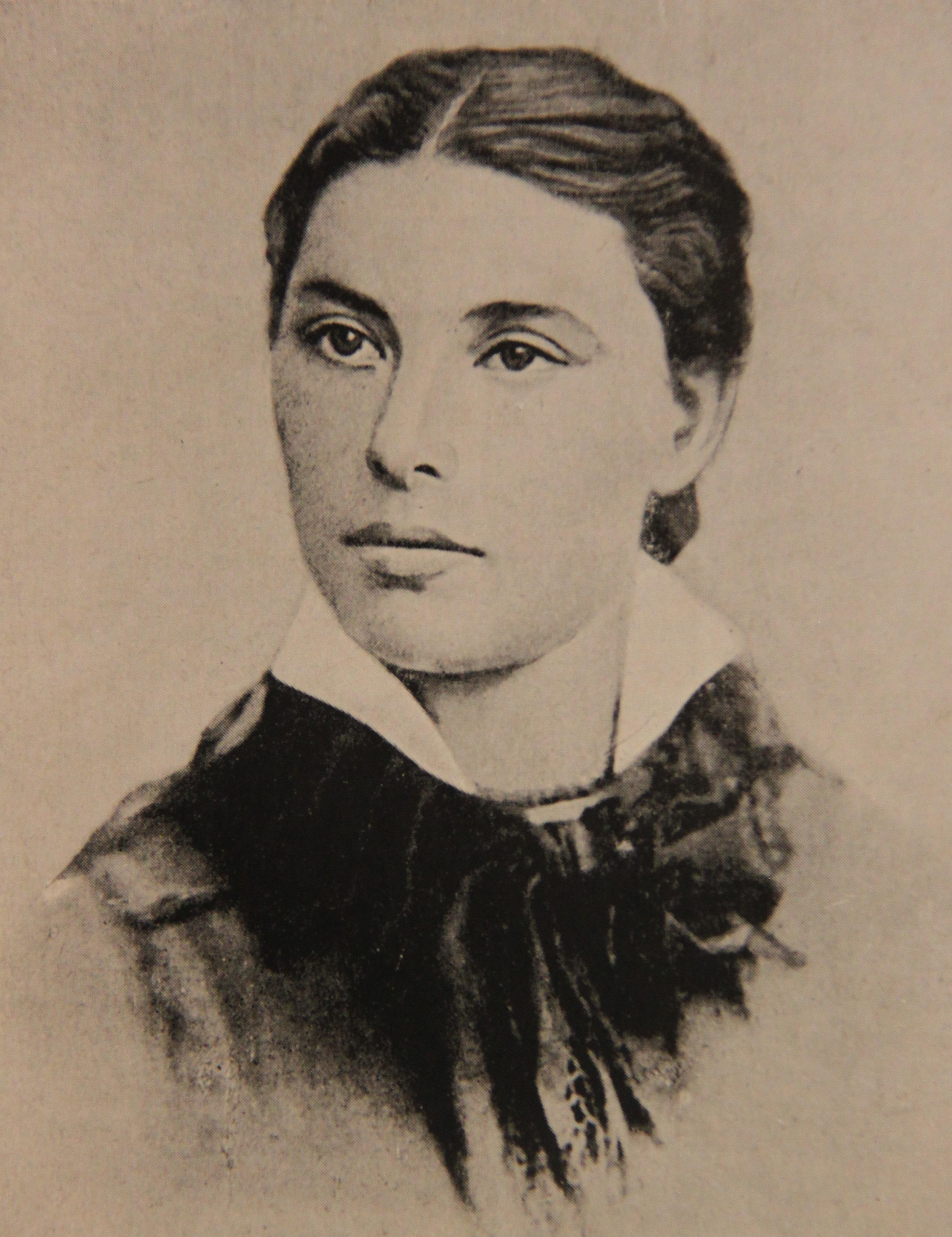 С.Г. Кропоткина, жена П.А. Кропоткина, фото 1878 года