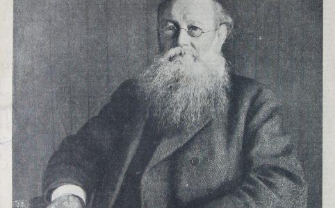 Журнал НИВА №28 от 1921 года, фото П.А.Кропоткина и статья о нем