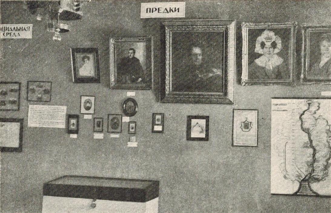 Первая комната Музея. Не позднее 1928г
