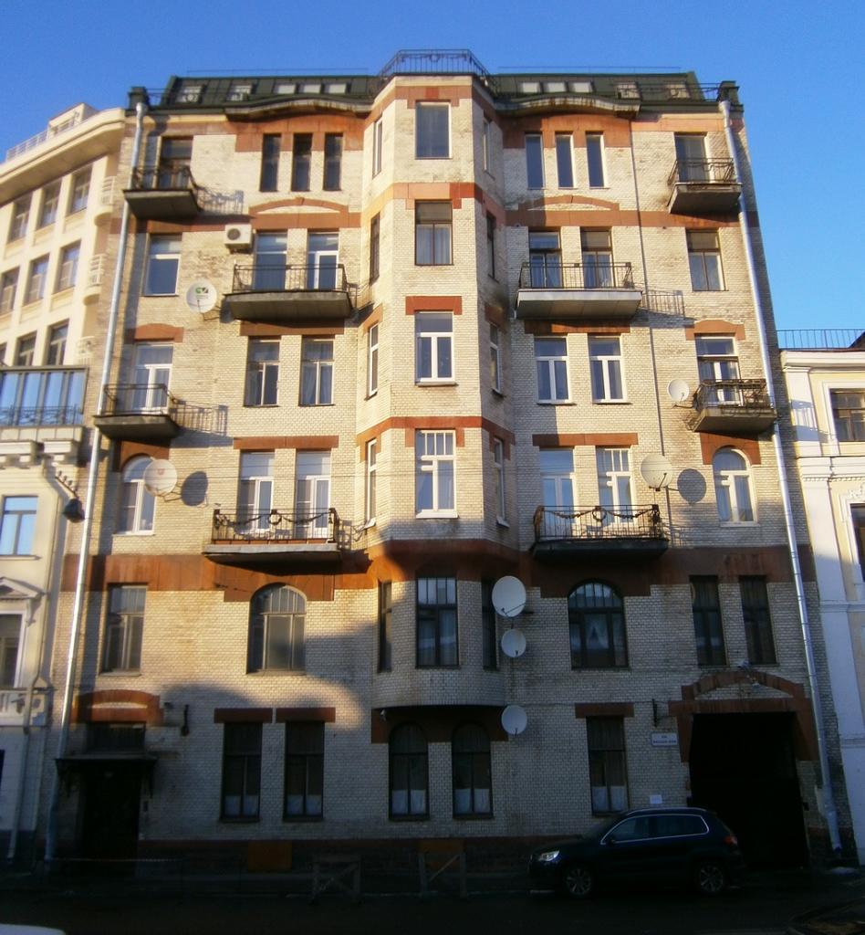 Рыночная ул, дом 10, где проживал П.А.Кропоткин в 1917 году